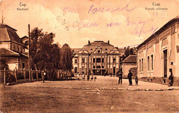 ČOP / CSAP [ KÁRPÁTALJÁ ] : NÁDRAŽI / VASUTI ÁLLOMÁS / LA GARE / THE RAILWAY STATION - POSTCARD MAILED In 1922 (ae485) - Ukraine