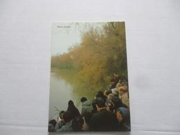 Postcard CPSM Cpa V1980 JORDANIE JORDAN RIVER Place Of Baptism 1er Bapteme ISRAEL PALESTINE  PARLIAMENT Tbe - Jordanie