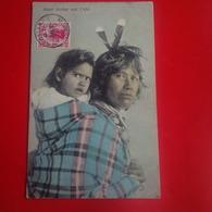 MAORI MOTHER AND CHILD - Nouvelle-Zélande