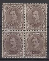 Belgique: 1915 :  COB N° 136, 3x * MH ( 1 Est Aminci) Et 1x ** MNH. - 1915-1920 Albert I