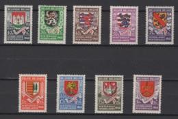 Belgique: 1940 :  COB N° 538/46 **, MNH. Cote COB 2020 : 11,50 € - Nuovi