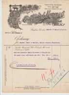 ALLEMAGNE: Emanuel MEYER & Co, Leder Fabrick à Guben / Lettre De 1911 Pour Millau - 1900 – 1949