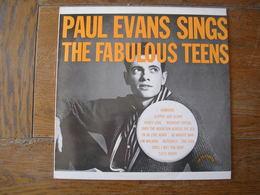 """33 Tours 30 Cm - PAUL EVANS THE FABULOUS TEENS  - SKYLINE 1382  """" I'M LOVE AGAIN """" + 17 ( U.S.A. ) - Vinyl Records"""