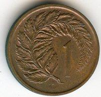 Nouvelle Zélande New Zealand 1 Cent 1975 KM 31.1 - Nuova Zelanda