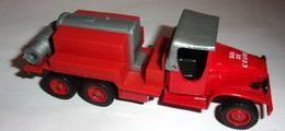 Camion De Pompier GMC Citerne  - Solido - Non Classificati