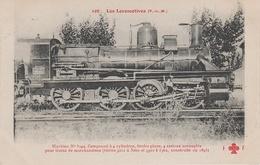 AK Les Locomotives Francaises P. L. M. 108 Locomotive Machine No 3344 Serie 3211 A 3260 Et 3301 3362 Chemin De Fer Train - Eisenbahnen
