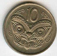 Nouvelle Zélande New Zealand 10 Cents 1976 KM 41.1 - Nuova Zelanda