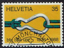 Schweiz 1988, MiNr 1376, Gestempelt - Used Stamps