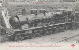 AK Les Locomotives Francaises P. L. M. 86 Locomotive Machine No 2696 Serie 2691 A 2700 Chemin De Fer Train - Eisenbahnen