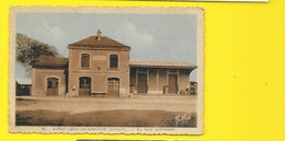 SAINT CIERS Sur Gde Rare La Gare Extérieure (Yobled Renaud Buzaud) Gironde (33) - Other Municipalities