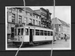 PHOTO  TRAM LIJN W GENT WETTEREN REPRO - Tramways