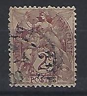 France 1900-24  Blanc (o)  2c - 1900-29 Blanc