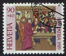 Schweiz 1989, MiNr 1396, Gestempelt - Used Stamps