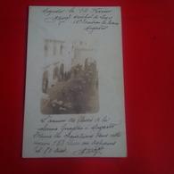 CARTE PHOTO MOGADOR MARECHAL DES LOGIS ESCADRON DU TRAIN L ARRIVEE DES BLESSES DE LA COLONE GUEYDON - Autres