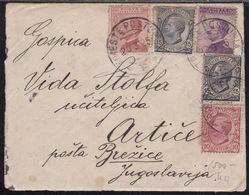 Slovenia, Triest Postumia Railway TPO Cancellation, Mailed 1925 - Slovenia