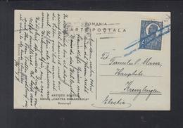 Romania PC To Switzerland - 1918-1948 Ferdinand, Carol II. & Mihai I.