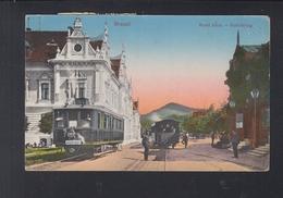 Romania PPC Brasov 11.11.1916 To Bucuresti Tax - 1881-1918: Carol I.