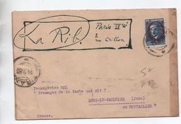 ALBANIE - 1928 - ENVELOPPE Pour LONS LE SAUNIER (JURA) - Albanie