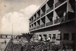 """7125 """" CARBONIA-ALBERGO CENTRALE """"ANIMATA-CART. POST. ORIG. SPED. 1953 - Carbonia"""