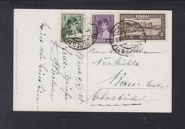 Romania PPC 1928 Bucuresti To Switzerland - 1918-1948 Ferdinand, Carol II. & Mihai I.