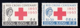 HONG KONG 1963 RED CROSS CENTENARY  MNH - Hong Kong (...-1997)