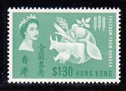 HONG KONG 1963 FREEDOM  MNH - Hong Kong (...-1997)