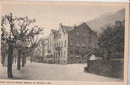ST. GOAR (a. Rh). Café Und Conditorei Hausser - St. Goar