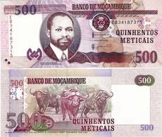 MOZAMBIQUE       500 Meticais       P-153b       16.6.2017       UNC - Mozambique