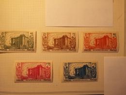 Guadeloupe. Sc #B4-B8. Semi-Postals.Série De Cinq. - Guadeloupe (1884-1947)