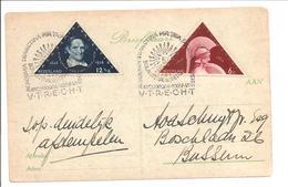 Nederland 1936. 300 Jaar Universiteit Utrecht Academia Trajectina Op Nvph 287-288 - Periode 1891-1948 (Wilhelmina)