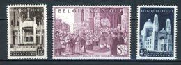 BE   876 - 878   XX   ---   Van Roey Et Koekelberg  --  Excellent état. - Belgium