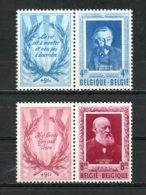 BE   898 - 899   XX   ---   Littérateurs Belges  --  Verhaeren Et Conscience  --  Excellent état. - Belgium