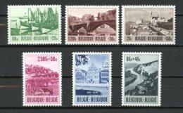 BE   918 - 923   XX   ---    Culturelle  :  Tourisme  --  Excellent état. - Belgium