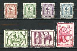 BE   998 - 1004  XX   ---  Antituberculeux : Les Infirmières  --  Parfait état. - Belgium