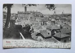 ROMA -   VIAGGIATA  ANNO 1902  FP - Roma (Rom)