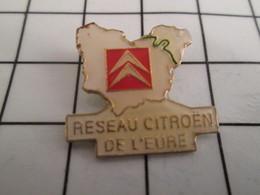 716b Pin's Pins / Beau Et Rare / THEME : AUTOMOBILES / RESEAU CITROEN DE L'EURE Et Après L'Eure C'est Plus L'Eure - Citroën