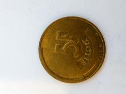 5 Francs Belgie - 1986 - 05. 5 Francs