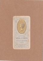 Calendrier Petit Format 1909 Parfum Séduction Gellé Frères Paris - Calendriers