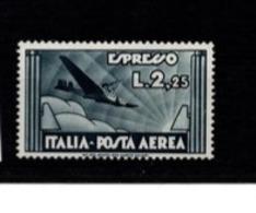 1933 - POSTA AEREA ESPRESSO L. 2,25 MNH** - 1900-44 Victor Emmanuel III