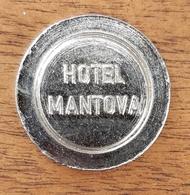 GETTONE TOKEN JETON PARCHEGGIO PARKING PARKMUNZE SLOVENIA HOTEL MANTOVA VRHNIKA - Jetons & Médailles
