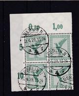 Deutsches Reich, 529 Im Eckrand-Viererblock, Gest.  (K 6181b) - Germania