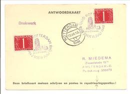 Nederland 1948. OUD ROTTERDAM RIVIÈRAHAL - Periode 1891-1948 (Wilhelmina)