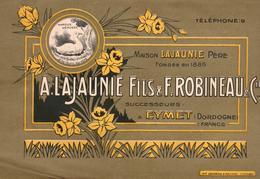 24 EYMET A. LAJAUNIE FILS & F. ROBINEAU & Cie PRODUITS ALIMENTAIRES USINE A VAPEUR A LA GALINIERE - 1900 – 1949