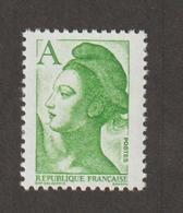 Variétés - 1986  - Type Liberté - N°  2423b -  A = (1f90) Vert    -    Sans Phosphore       - Neuf Sans Charnière  - - Variétés Et Curiosités