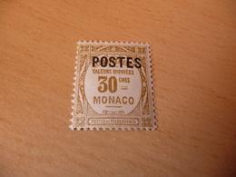 TIMBRE  DE  MONACO    ANNÉE   1937      N 145   COTE  5,50  EUROS  NEUF  SANS  CHARNIÈRE - Monaco