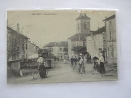 XERTIGNY_route Des Bains_voyagé En 1905 - Xertigny