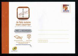 PAP Prêt à Réexpédier Courrier REEXPEDITION PRIORITAIRE FRANCE  Neuf Avec Sa Bande De Fermeture Non Détachée TTB 2 Scan - Entiers Postaux