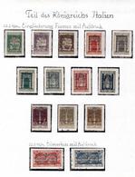 1924 - FIUME - Mi. 168/171 - LH - AG.358.3501 - 8. WW I Occupation