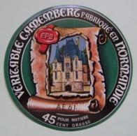 Etiquette Camembert - Le Manoir - Fromagerie Préel à Boucé Par Argentan 61-AE Normandie - Orne   A Voir ! - Fromage