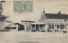 77, Seine Et Marne, BOIS LE ROI, Hotel De La Cité, Scan Recto Verso - Bois Le Roi
